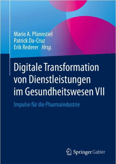 www.cmsattler.com - Claus Michael Sattler Buch Digitale Transformation von Dienstleistungen im Gesundheitswesen VII - Impulse für die Pharmaindustrie